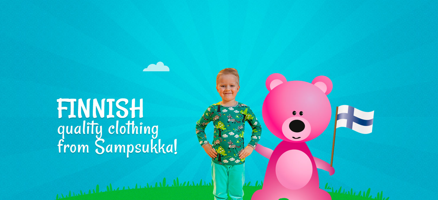 Finnish quality clothing from Sampsukka!